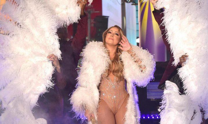 Prestatie ratata de Anul Nou pentru Mariah Carey